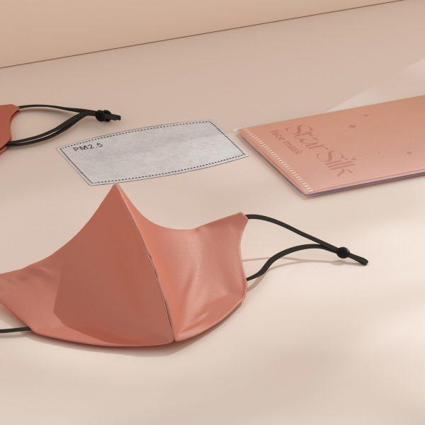 starsilk svilene maske za lice daydream pink
