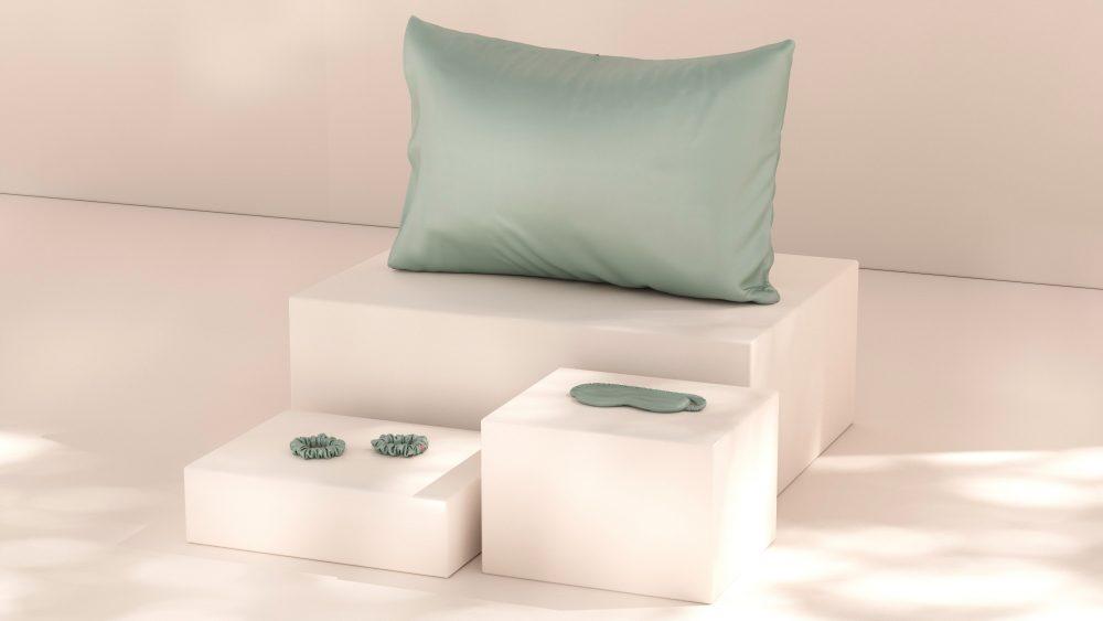 starsilk svilene jastučnice green aurora