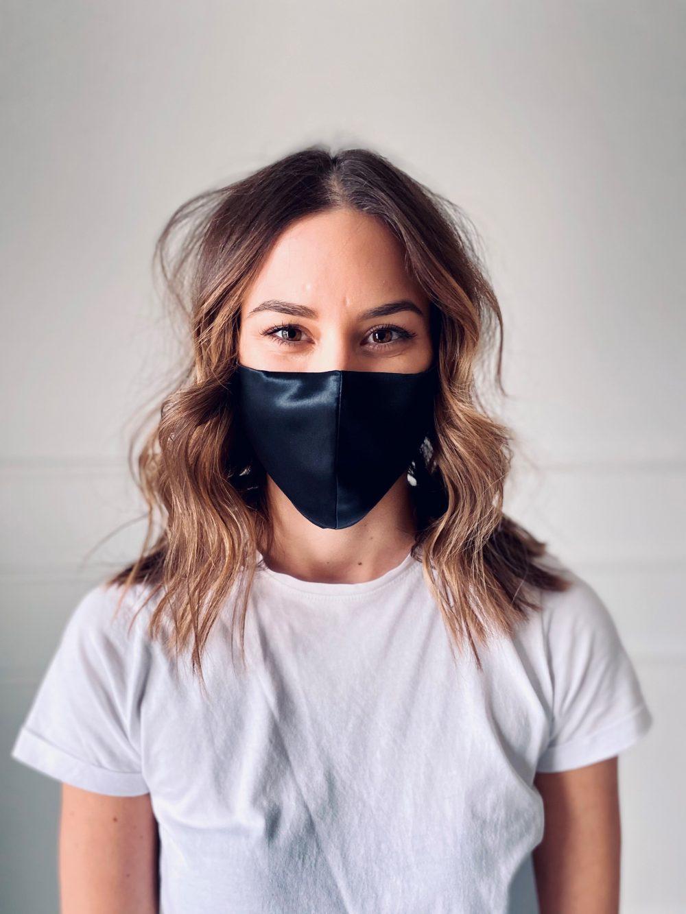 starsilk svilene maske za lice black moon
