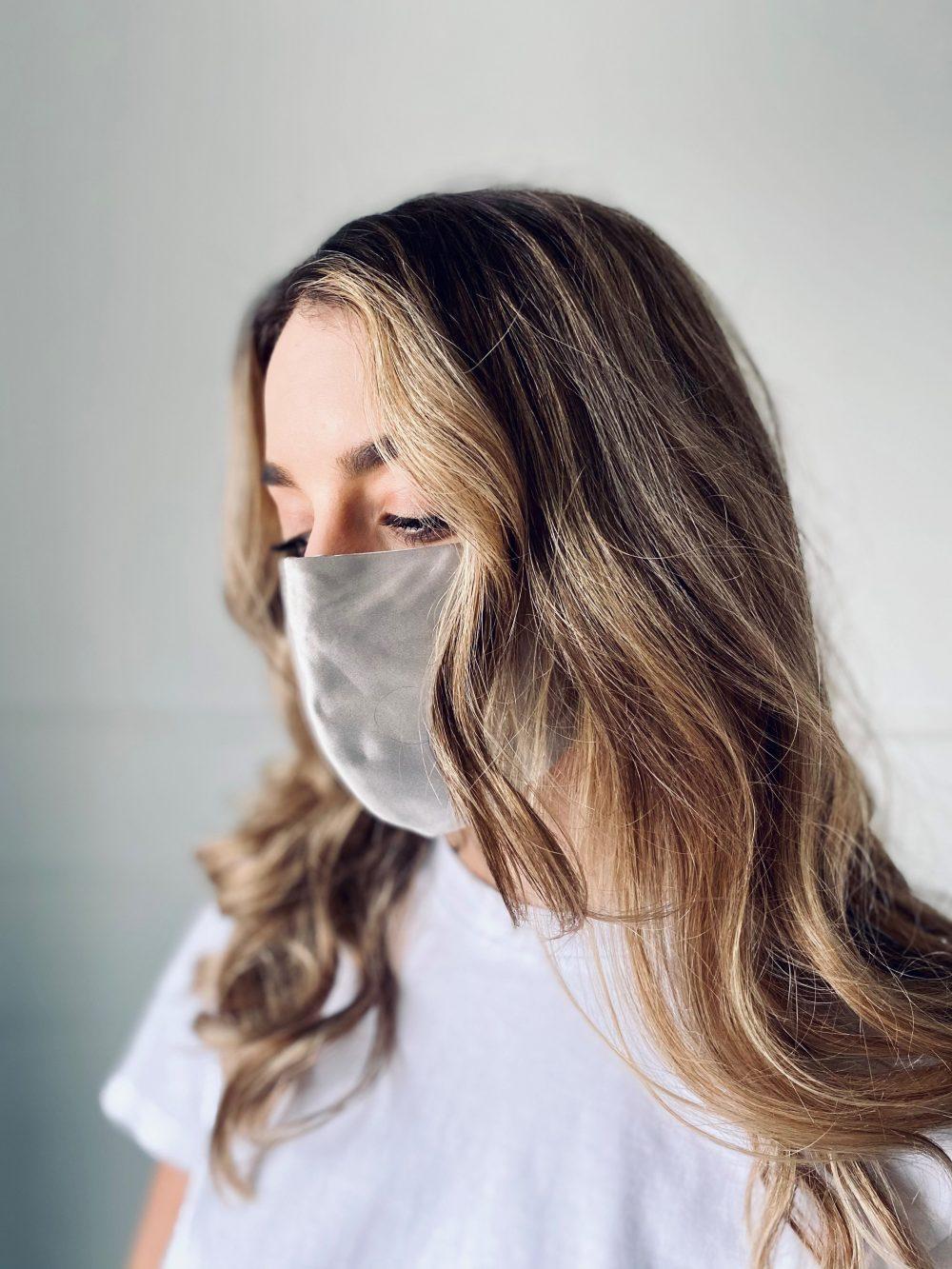 starsilk svilene maske za lice silver dust